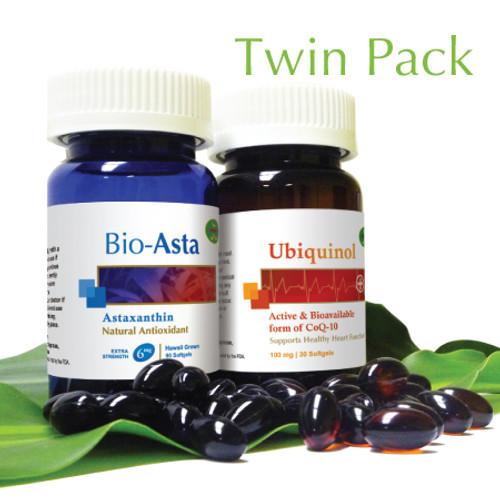 爾寶佳紅 & 活力素 (套裝) Bio-Asta & Ubiquinol (Twin Pack)