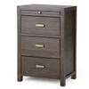 Camin Nightstand - Carbon