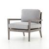 Lauren Outdoor Chair - Graphite