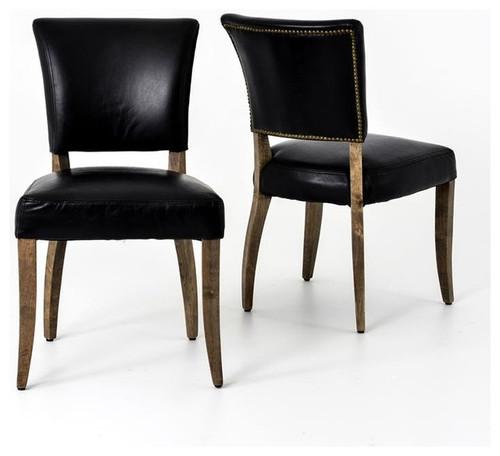 Rider Dining Chair - Black