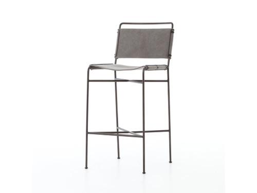 Arton Bar Stool - Grey