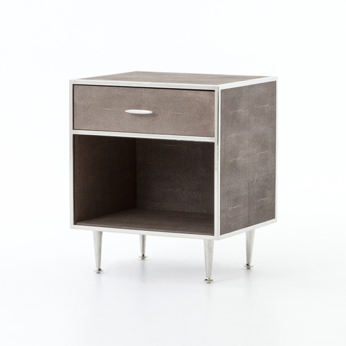 Bentley Nightstand - Stainless