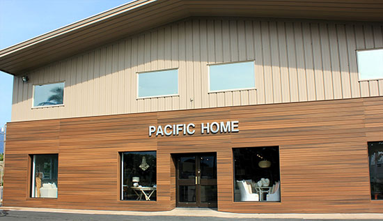 front view of pacific home shop maui