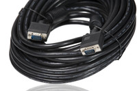 25' / 7.6m VGA extension cable, male to male. Teleprompter, PrompterPeople