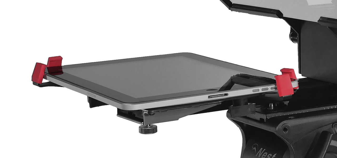 TabGrabber iPad Pro, Surface Pro, and Tablet Teleprompter Cradle - by PrompterPeople