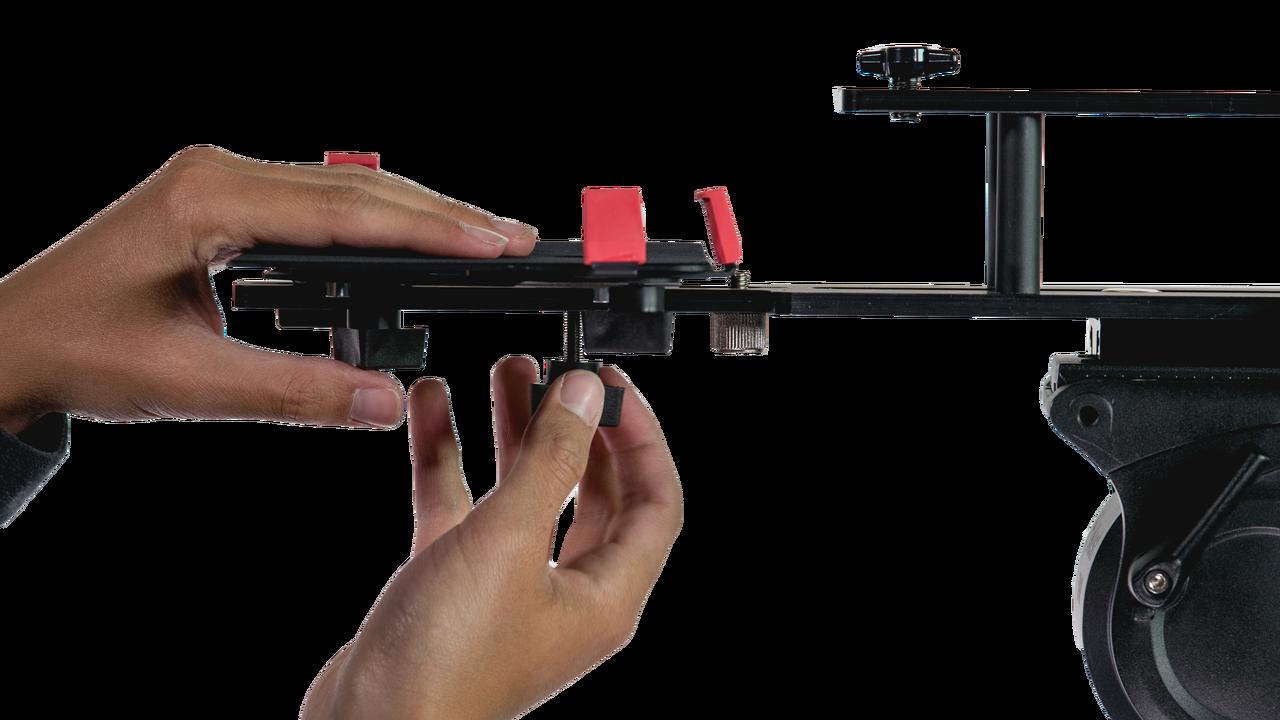TabGrabber iPad Pro Teleprompter Side for UltraLight Series