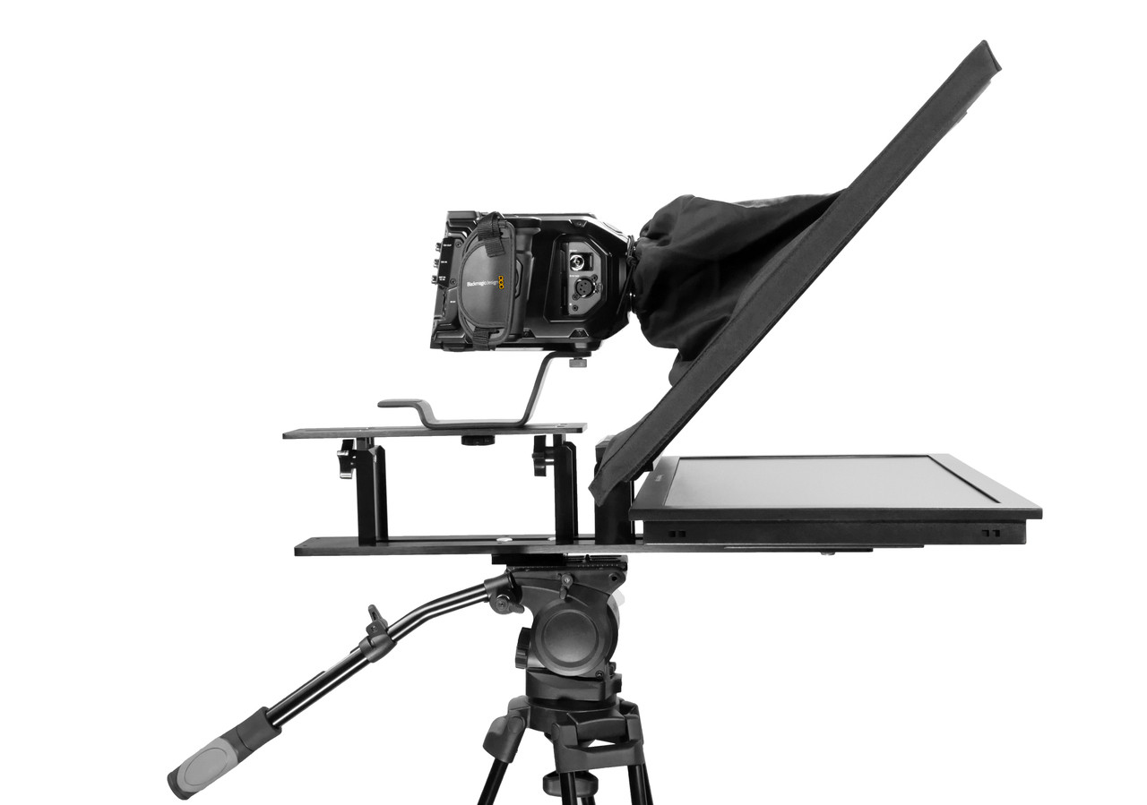 Q-Gear Pro Large Camera Teleprompter Side