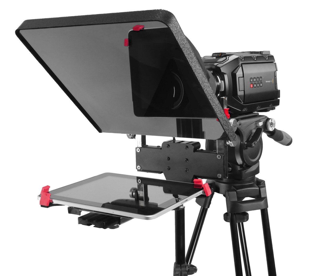 ProLine FreeStand iPad Pro Teleprompter - Angled