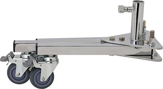 Base Folds - and Detaches from Main Post for easy transport