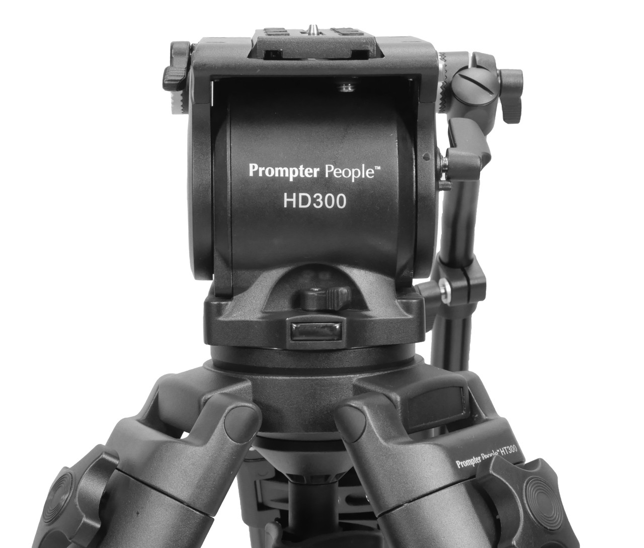 PrompterPeople Heavy Duty Tripod  Front Logo (Head)