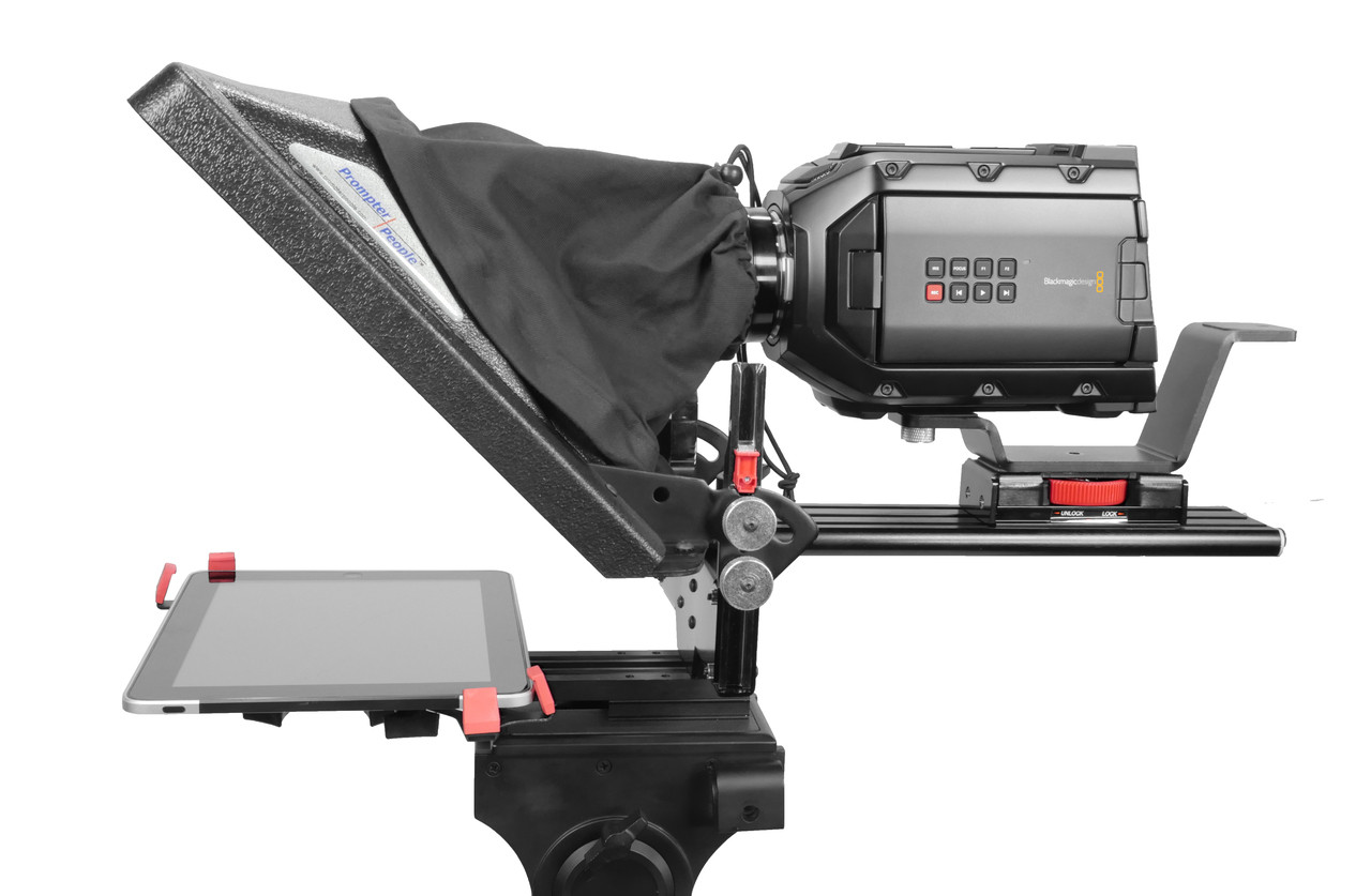 PrompterPeople ProLine Plus Teleprompter - iPad Side