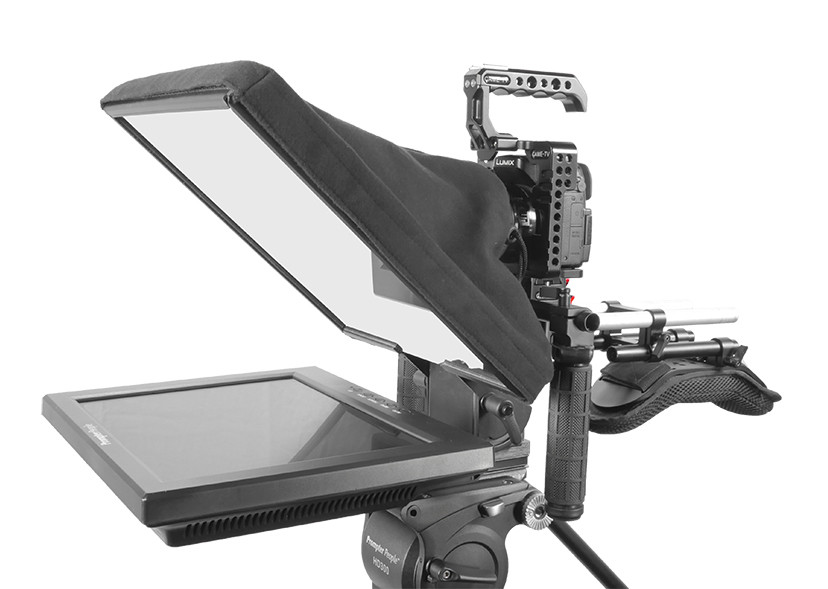 UltraFlex-12 15mm Rail-Mount Monitor with Free Teleprompter Software