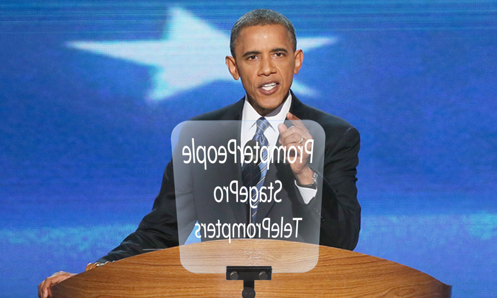 Stage Speech Presidential Teleprompters By Prompter People