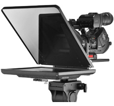 Learn how to use a teleprompter