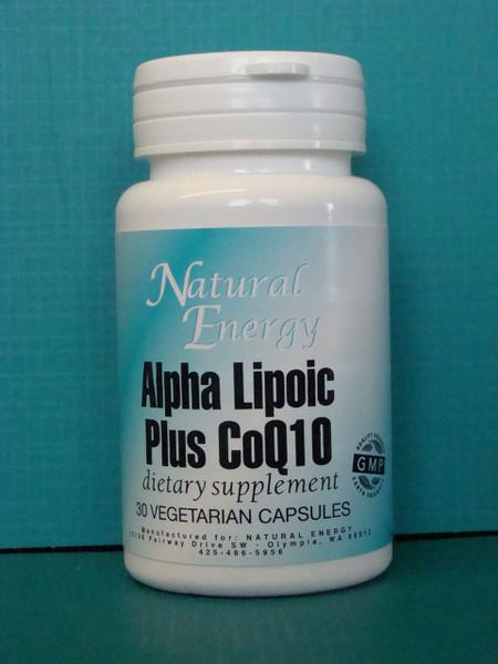 Alpha Lipoic Acid Plus CoQ10