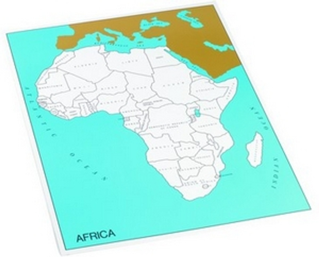 Control chart of Africa, countries
