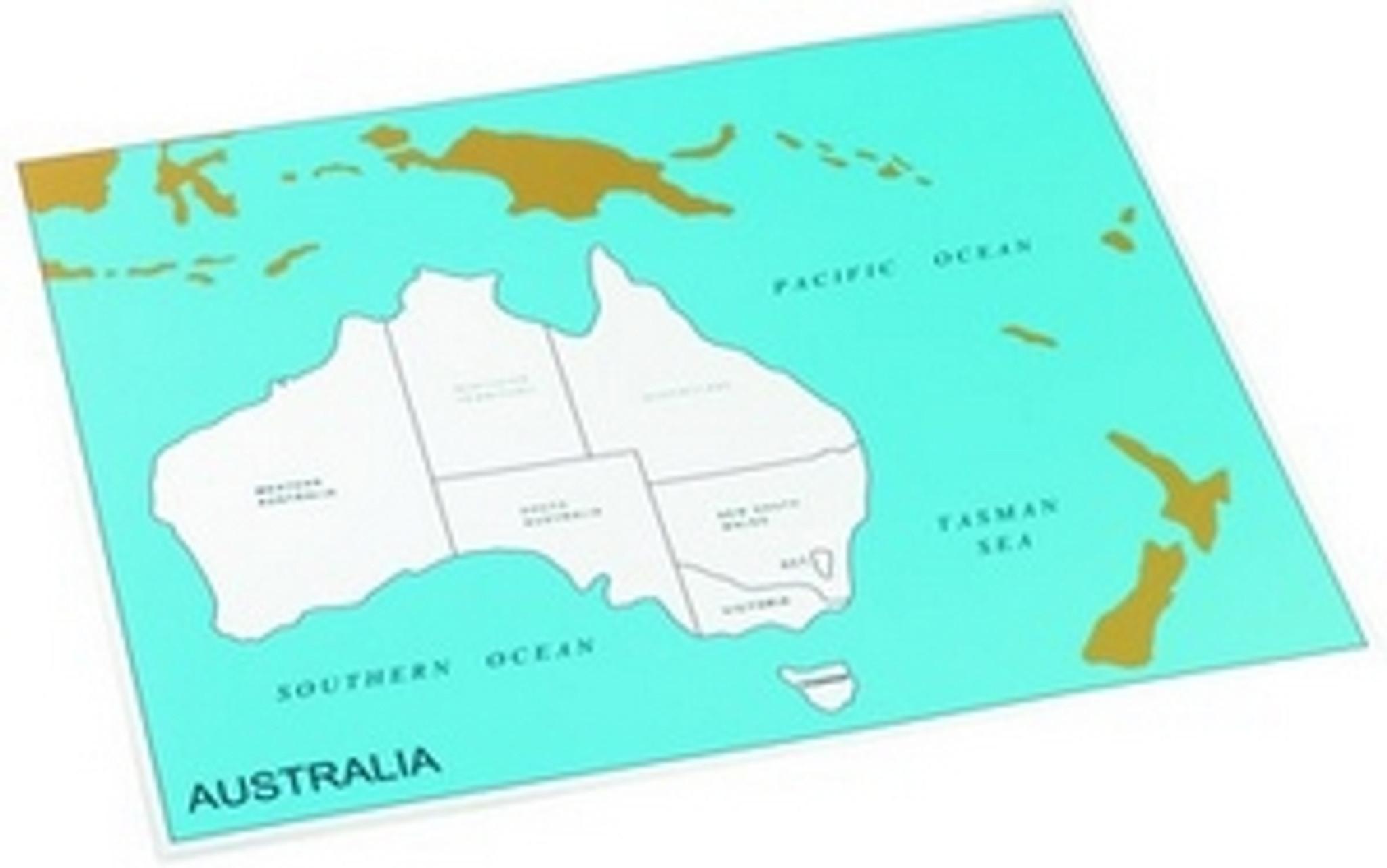 Control chart of Australia, states