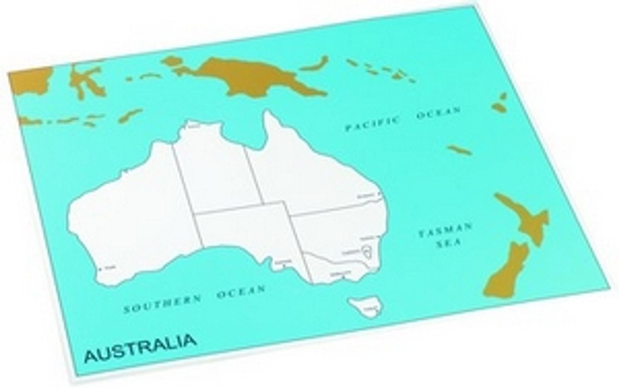 Control chart of Australia, states , capitals