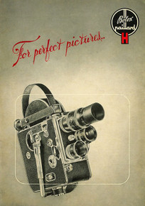 Instructions for Use Paillard Bolex Model H 8mm & 16mm Movie Cameras - Free Download
