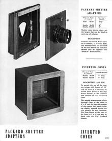 Deardorff Packard Shutter Adapter