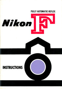 Nikon F Fully Automatic Reflex Instructions - Free Download