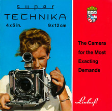 Linhof Super Technika 4x5 inch Technical Field Camera Brochure - Free Download