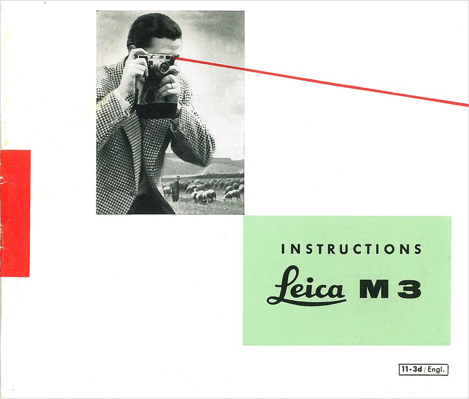 leica m3 rangefinder camera quick view instructions from surplus rh surpluscameragear com 1954 leica m3 instruction manual 1954 leica m3 instruction manual