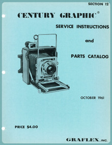 SECTION 12 - Century Graphic Service Instructions & Parts Catalog - Free Download