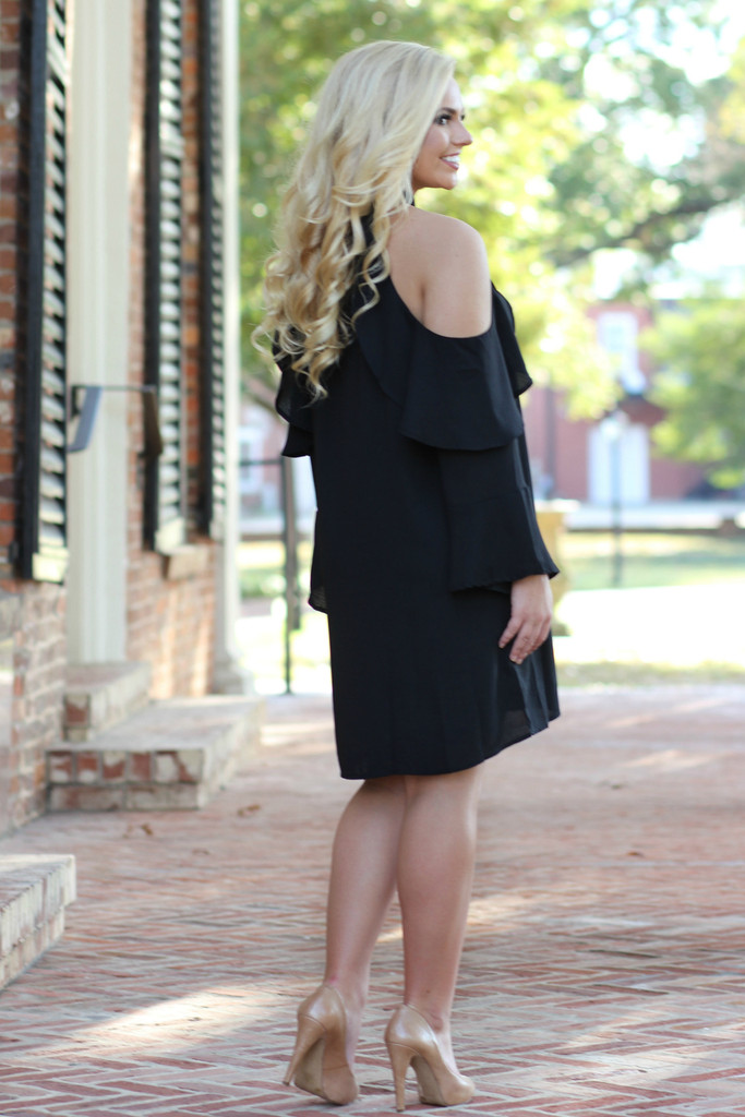 Stylish Little Black Dress: Black