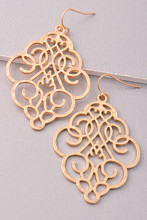 Second Chance Earrings: Gold