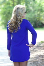 Out And About Dress: Royal
