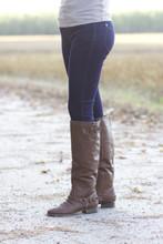 Gossip Girl Leggings: Denim