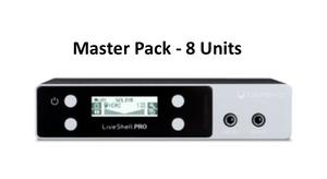 LiveShell PRO Master Pack - 8 Units