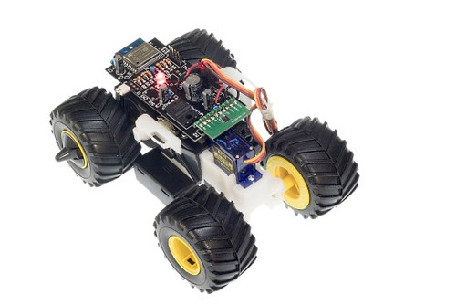 Wild Mini 4WD is not included in this kit.