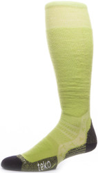 Teko Freeride World Tour Series Ski Socks: Light Cushion All Mountain Model