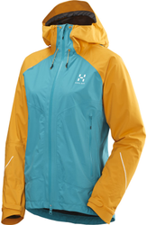 LIM Versa Jacket Women - Peacock / Sun