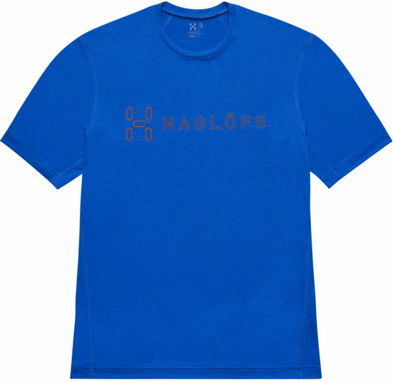Haglofs Ridge II Tee Men - Vibrant Blue