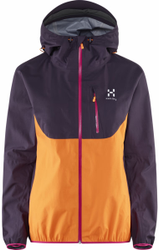 Haglofs Gram Comp Jacket Women - Berry / Tangerine