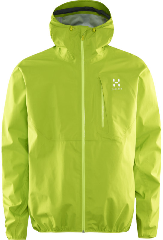 Haglofs Gram Comp Jacket Women - Glow Green