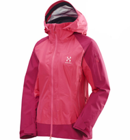 Haglofs Roc High Jacket Women - Volcanic Pink / Cosmic Pink