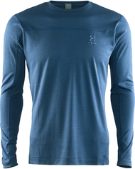 Haglofs Actives Blend Roundneck - Blue Ink