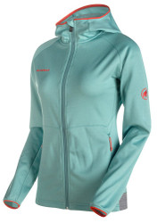 Mammut Get Away ML Hooded Jacket Women Air melange