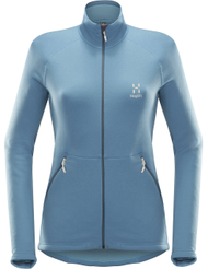 Haglofs Bungy Jacket Women - Blue Fox