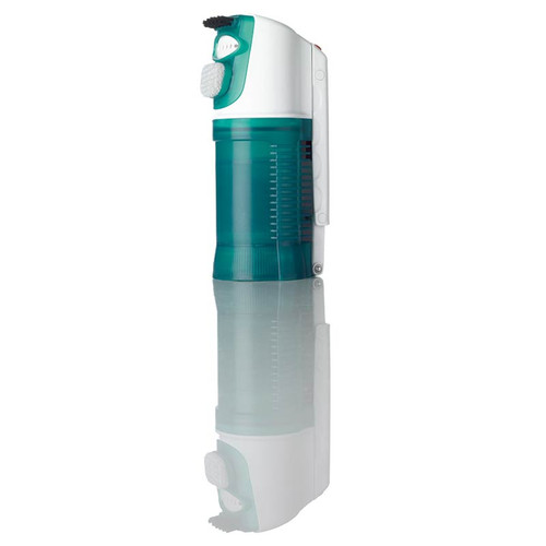 Mini garment steamer with detachable lint bristle