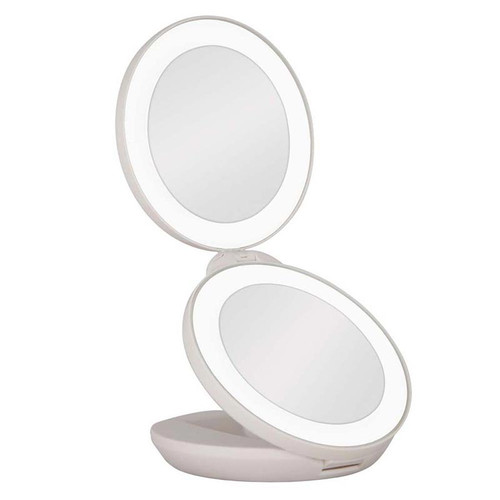Next Generation travel mirror has two magnifications