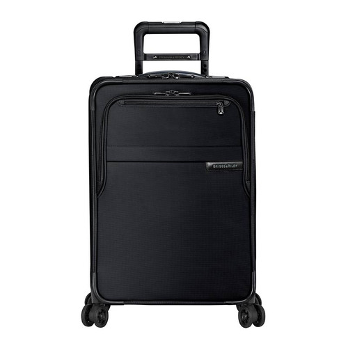Baseline domestic carry-on spinner in black