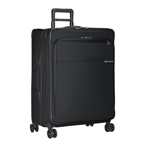 Baseline large expandable spinner in black