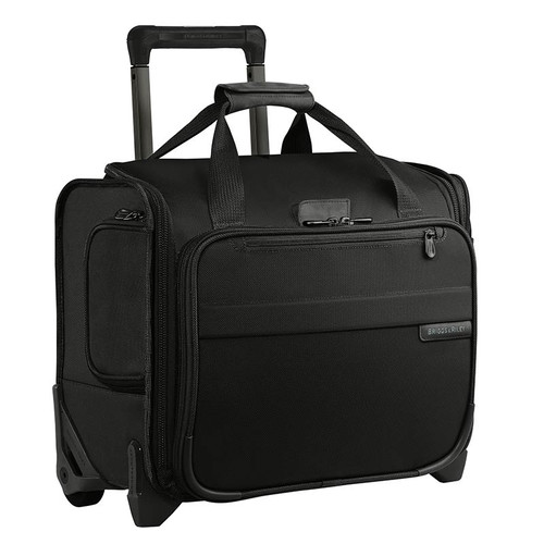 Baseline rolling cabin bag in black