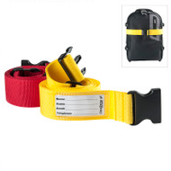 No more searching for your bag in a sea of black bags with this hi visibility strap.