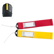 Spot your bag in an instant with these brightly colored, durable ID tags.